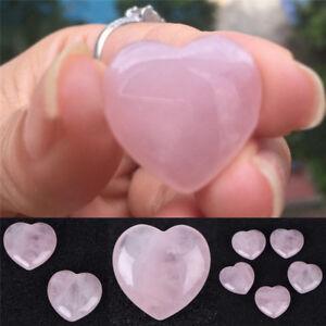 Natural-RoseQuartz-Crystal-Carved-HeartShaped-Love-Palm-Healing-Gemstone-PinkATA