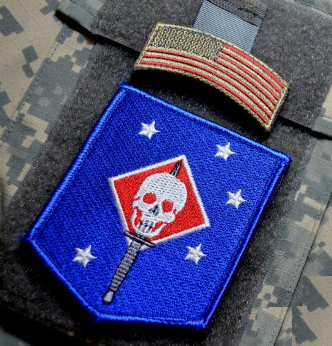KANDAHAR WHACKER USASOC RANGERS ACU hook//loop SPECIAL FORCES ABN SFG INSIGNIA