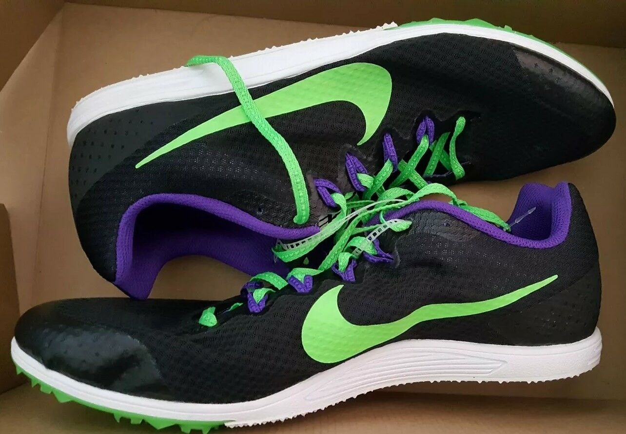 low priced 15fdf 115f5 Nike Zoom Rival Rival Rival D 9 Distance Track Spikes Size 13 Mens  806556-035 Running New fed38d