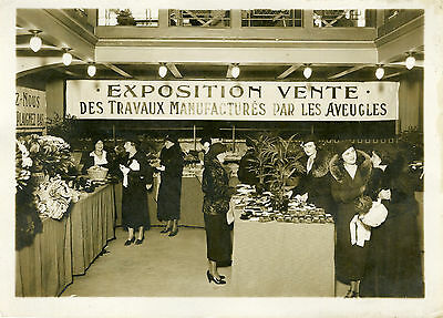 """exposition Amitié Des Aveugles De France 1931"" Photo Orig. G.devred (agce Rol) úLtima TecnologíA"
