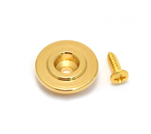 1 Gotoh Gold Vintage Style Round String Guide for Fender P//Jazz Bass® RB20GS