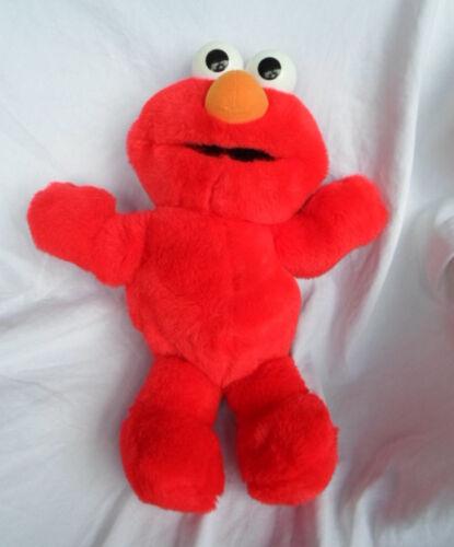 """Tyco Tickle Me Elmo 17/"""" Sesame Street Plush Toy Stuffed Animal"""