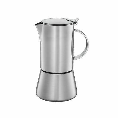CILIO Madeira Espressokocher Porzellan Esspressomaschine 6 Tassen elektronisch