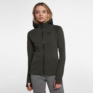 648915283bbd Nike Wmns NSW Tech Fleece Full Zip Hoody women NEW 842845-355 ...