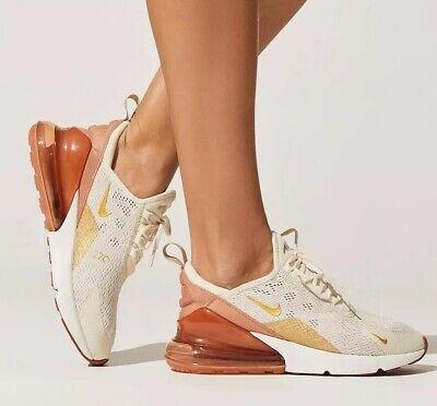 Nike Damen Air Max 270 Light creme terra Blush Größe 3.5 UK 36.5 EU ah6789 203 | eBay
