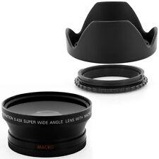 72mm Reversible Lens Hood + Wide Angle for Canon EF 28-135mm USM DSLR Camera,NEW