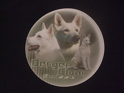 Tapis de souris BERGER BLANC SUISSE