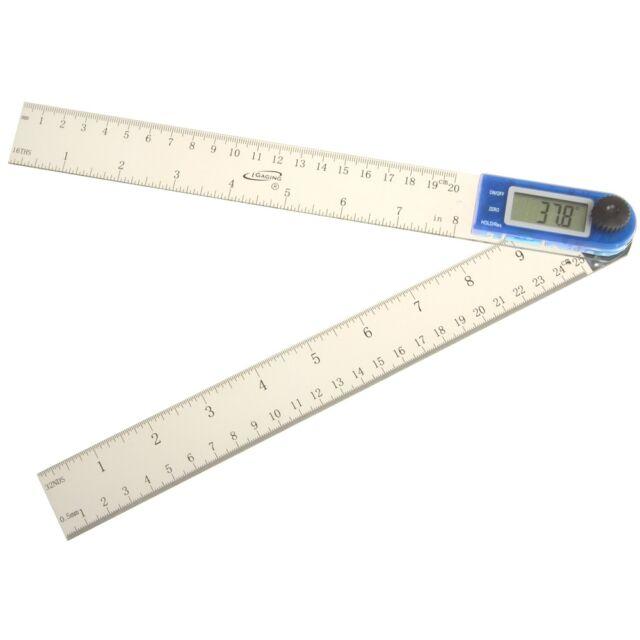 """iGaging 11"""" Electronic Digital Protractor Goniometer Angle Finder Miter Gauge"""