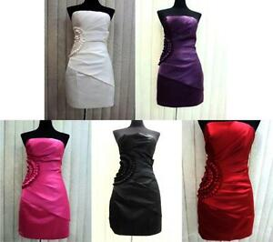 Strapless-Formal-Cocktail-Prom-Wedding-Evening-Gown-Ball-Party-Dress-Plus-Sz-New
