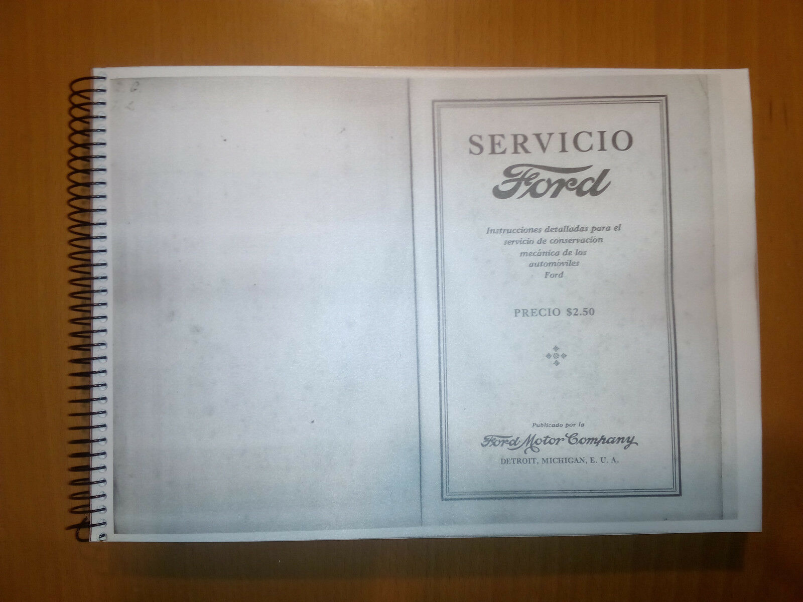Pleasing Workshop Manual Ford Model T All In Spanish Ford 1927 Oqflnd8403 Wiring Cloud Scatahouseofspiritnl