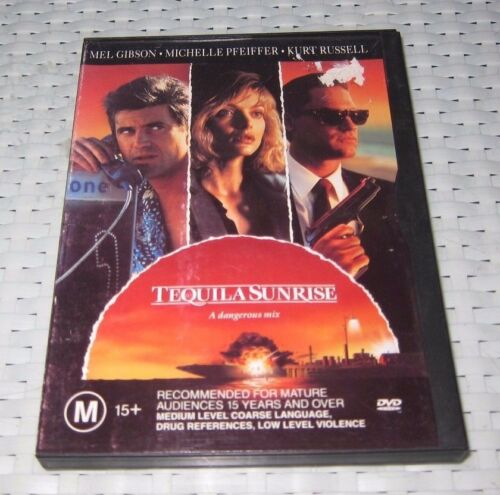 1 of 1 - Tequila Sunrise - DVD, 1998 - ede