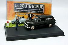UH La Route Bleue 1/43 - Simca Aronde Messagère Vespa Gendarmerie
