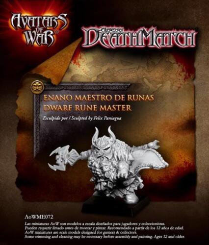 AOW72 Dwarf Rune Master *Warhammer Style* AVATARS OF WAR