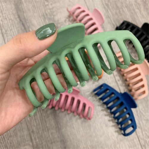 Hair Claws 1 Pc Korean Solid Big Acrylic Hair Clips Hairpins Headwear Women Hair