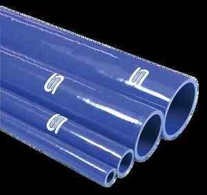 """SiliconHoses.com Straight Silicone Hoses 1m (3'3"""") & 0.5m (1'7 1/2"""") BLUE/BLACK"""