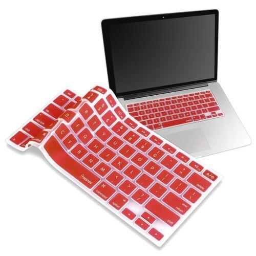 "+ Silicone Keyboard Skin Cover For Apple Macbook Pro Air Mac Retina 13/"" 15/"" 17/"""