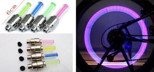 Bike Safety Lights LED Lights for tires on bikes 4 Lights motorcycles or cars