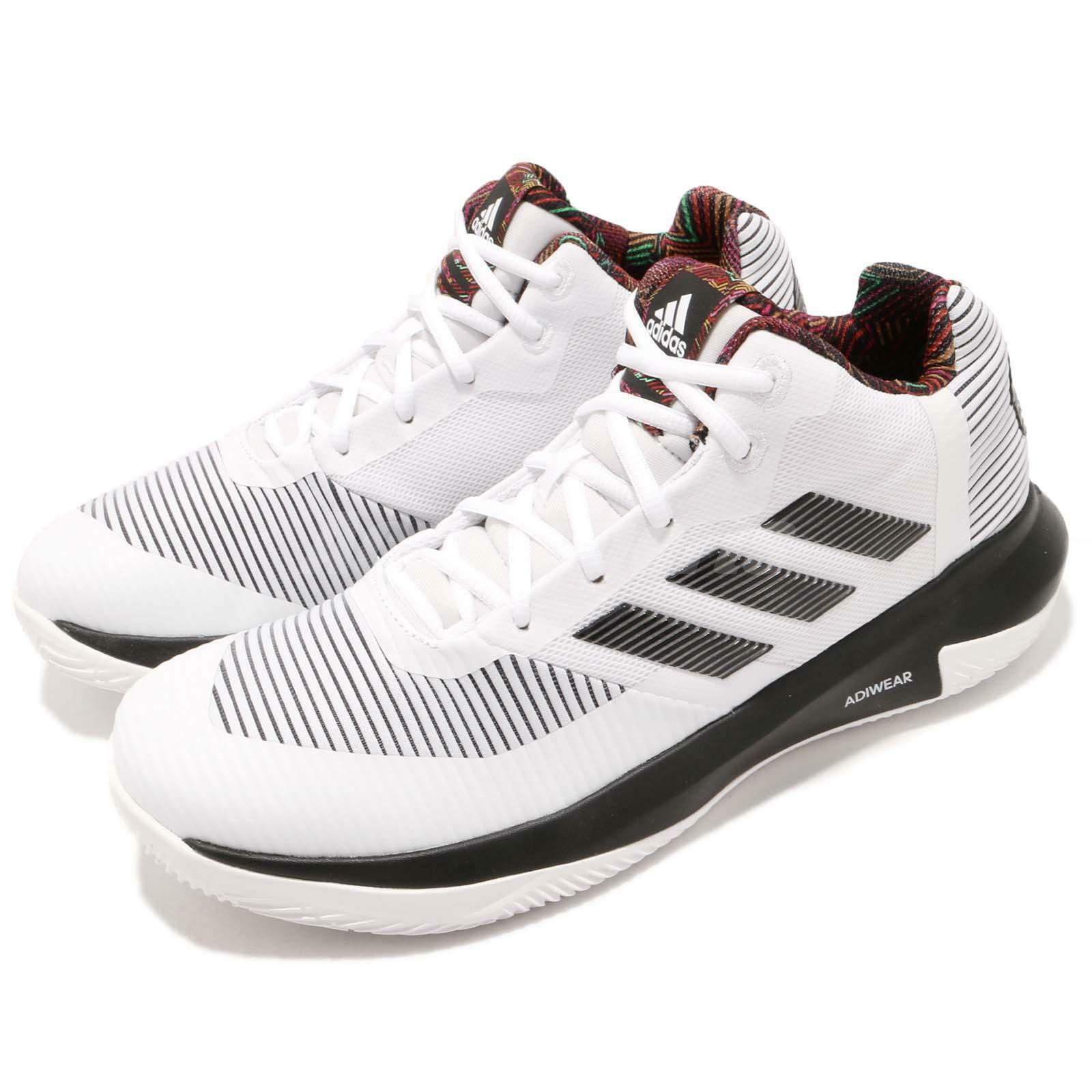 Adidas D D D rosa Lethality Derrick Summer Pack bianca nero Uomo scarpe scarpe da ginnastica BB7158 92c4be