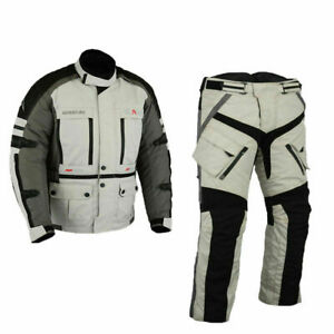 Touring-moto-combinata-biker-moto-tessile-station-wagon-impermeabile-Giacca-e-Pantaloni
