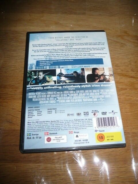 Miami vice, DVD, action
