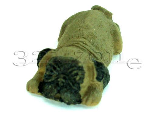 Puppenhaus Puppenstube Hund liegend Mops 1:12#5AA542-25