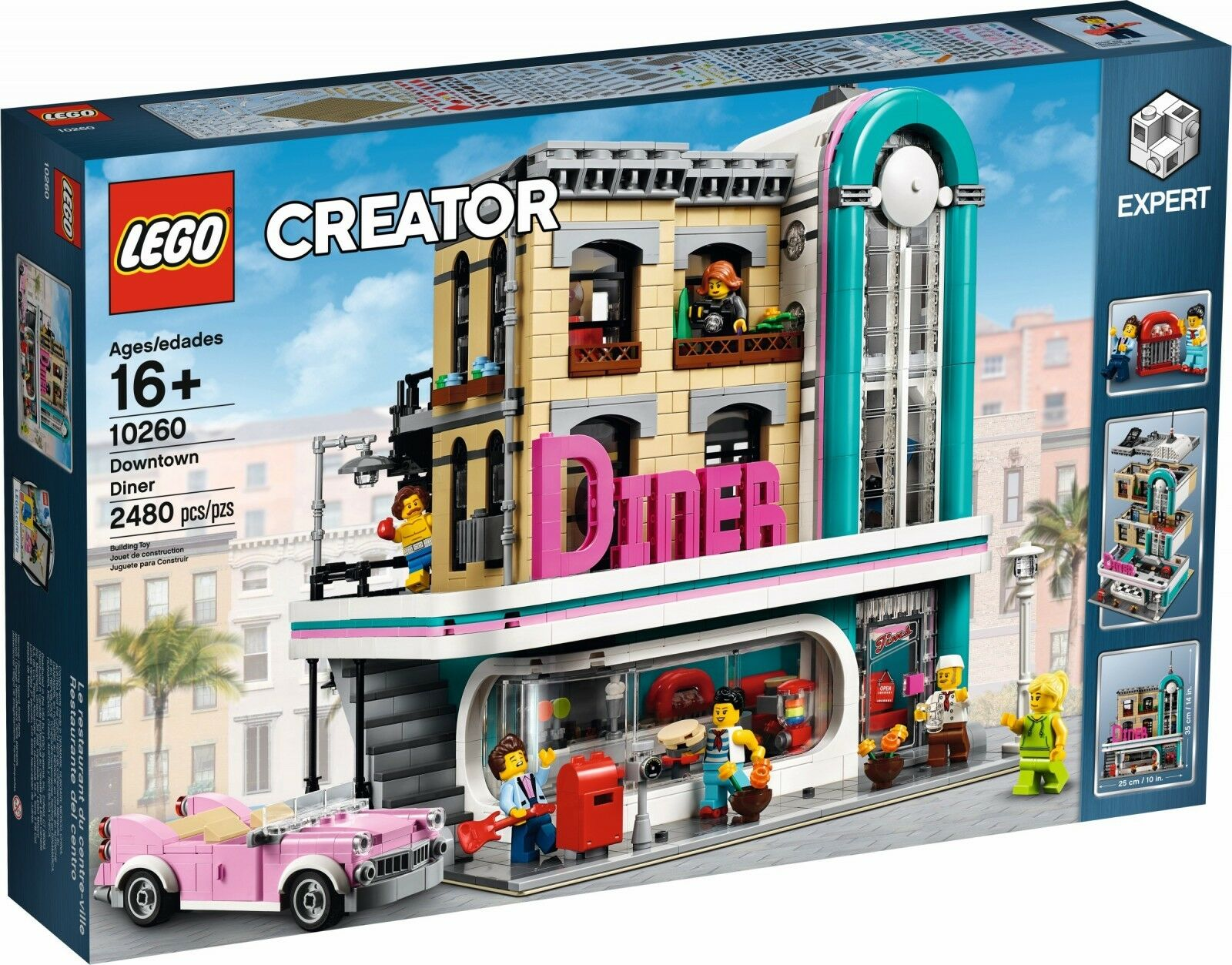 LEGO ® Creator Expert 10260 americana Diner NEW OVP _ DOWNTOWN Diner NRFB MISB