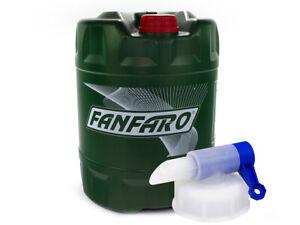 Huile-Fanfaro-Lsx-5W-30-Api-Sn-Cf-VW-MB-BMW-Porsche-20-Litre-Incl-Auslasshahn