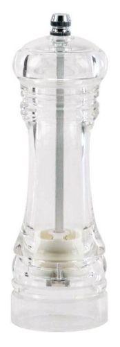 Macina SALE/PEPE - trita SPEZIE acrilico con MACINA in ceramica ILSA H15 cm