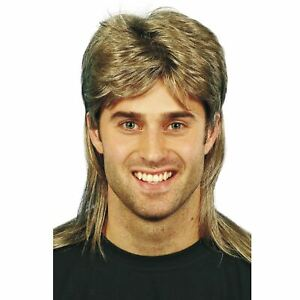 PréCis Chemise Country Western Chanteur Rocker Mulet Costume Perruque Blonde En Cheveux-afficher Le Titre D'origine