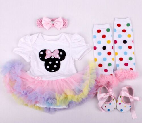 22/'/' Beautiful Handmade Dolls clothing Reborn Baby Doll Clothes Dress Suit set