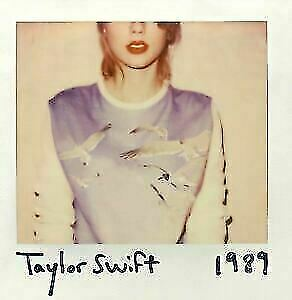 Taylor Swift 1989 Standard Edit 2014 Taiwan Cd 13 Photo Cards Promo Calendar For Sale Online Ebay