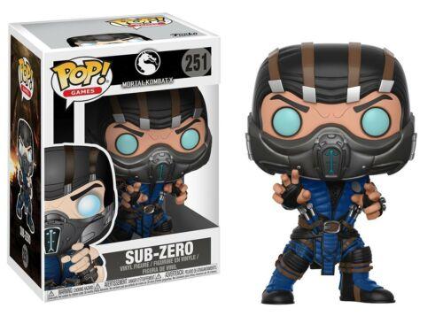 Mortal Kombat-Sub-Zero Brand New in Box Funko-Pop Jeux