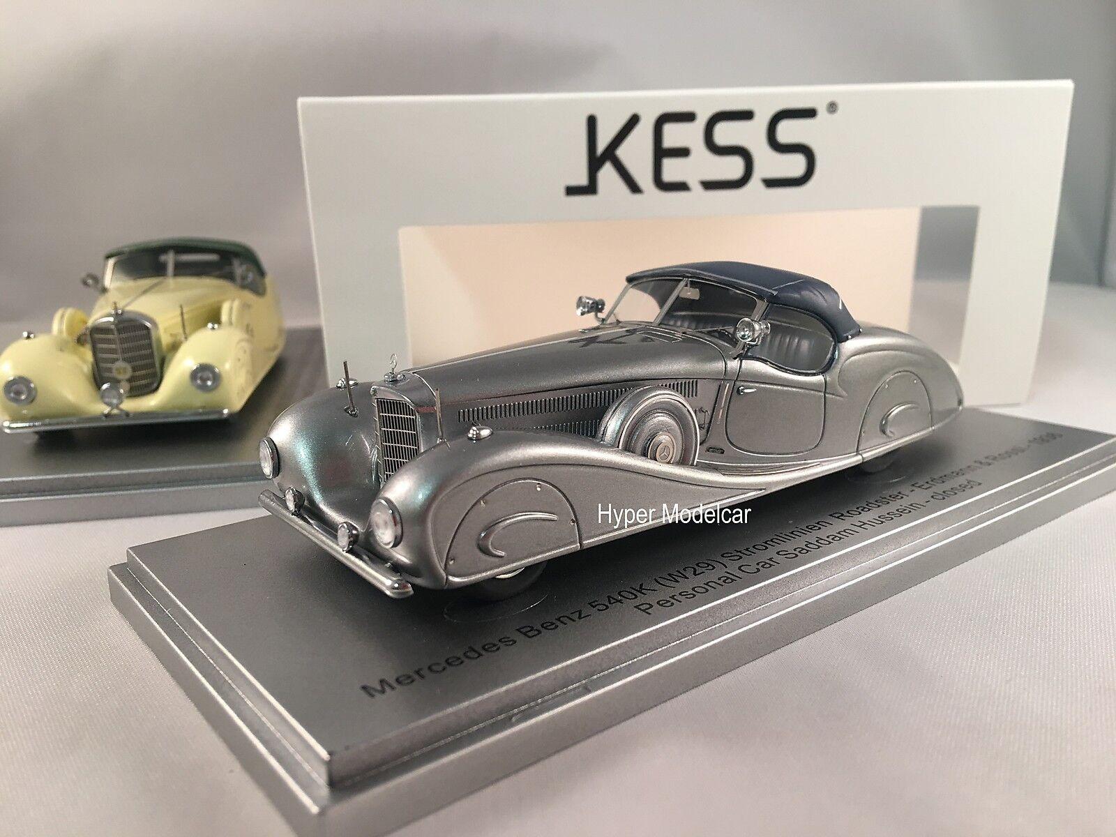 fino al 65% di sconto KESS modello modello modello 1 43 Mercedes 540K (W29) Erduomo & Rossi re Hussein 1936  KE43037012  con il 100% di qualità e il 100% di servizio