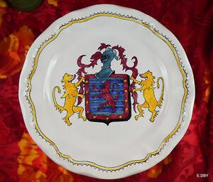 Assiette Faience Xxé Perle De L'angoumois La Rochefoucauld T921xzx8-08004025-907849498