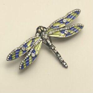 Unique-Small-Dragonfly-brooch-pin-enamel