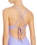 Red-Carter-Lilac-Plunge-Ribbed-One-Piece-Maillot-Size-S-4-6-Swimsuit-NWT-150 miniature 4