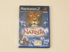 PS2 GIOCO LE CRONACHE DI NARNIA IL LEONE LA STREGA L'ARMADIO GAMES PLAYSTATION 2