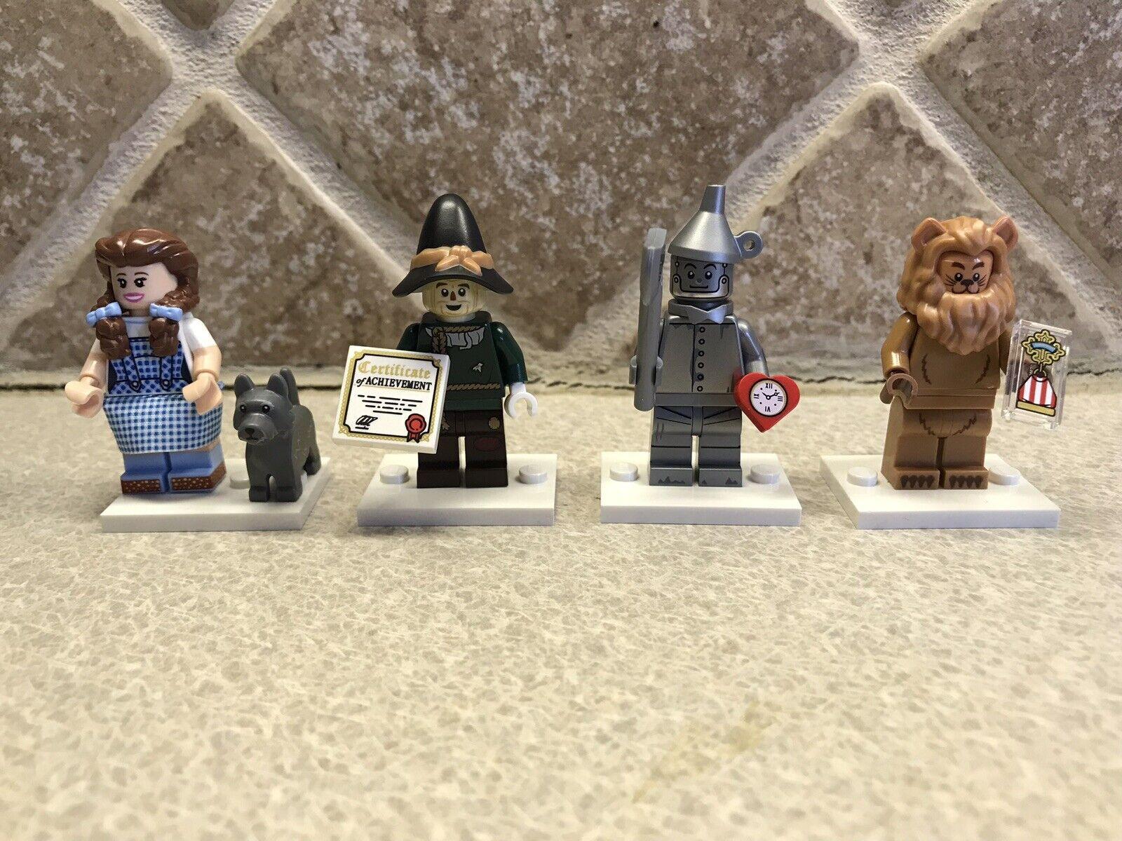 Lego Movie 2 Minifigures Minifigures Minifigures 71023 Wizard of Oz Set 4 DgoldTHY SCARECROW LION TIN MAN 98d590