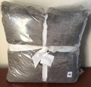 Pottery Barn Chinchilla Faux Fur Oversized Throw 60 X 80