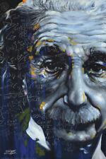 THEORETICAL PHYSICIST POSTER Albert Einstein It's All Relative Steven Fishwick