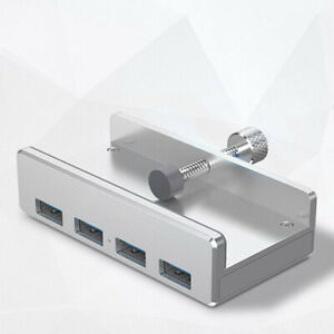 Usb-Hub-3-0-charging-hub-clip-aluminum-alloy-4-ports-portable-size-for-lapto-YLW