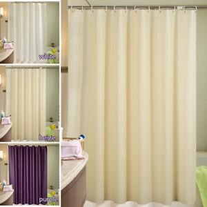 Rideau de douche bains tissu imperméable extra large/ long 12 ...