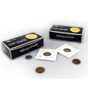 50pcs-Cardboard-Holders-2x2-Mylar-Flips-for-Coin-Display-amp-Storage-20-5mm
