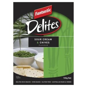 Fantastic Delites Sour Cream & Chives 100g