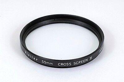 VIVITAR 62mm Cross Screen Glass Filter Japan
