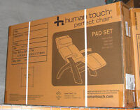 NEW PERFECT CHAIR ZERO GRAVITY RECLINER PAD SET ONLY - Red Bonded Leather