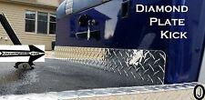 Yamaha G1 Golf Cart Highly Polished Diamond Plate KICK plate