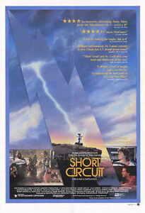 SHORT-CIRCUIT-Movie-POSTER-27x40-Steve-Guttenberg-Ally-Sheedy-Austin-Pendleton