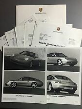 1999 Porsche 911 Carrera Press Kit Pressemaappe RARE!! Awesome L@@K