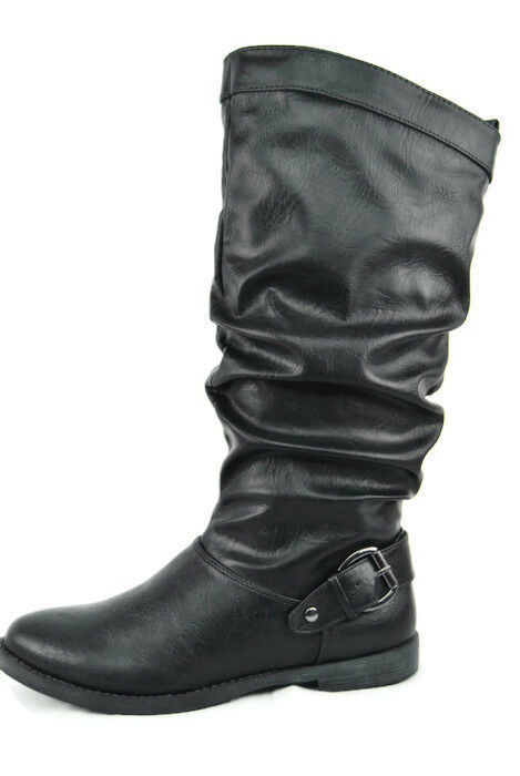 Easy Easy Easy Street Vigor Women's Fashion Below the Knee Boots,New,Black,5.5M,0206 cc1f17